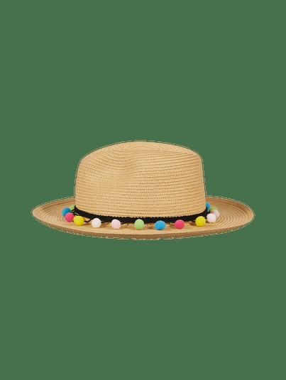 Chapéu Panamá Bolinhas Palha