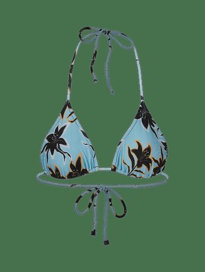 Biquíni Cortininha Brisa Brisa Floral Azul