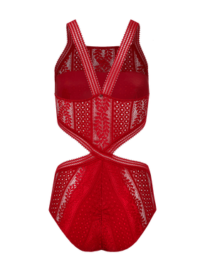 Body Vermelho Angelina