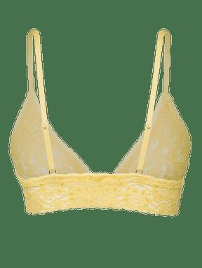 Sutià Top Leve De Renda Amarelo Sunshine