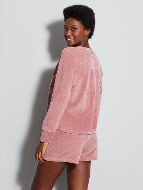 Pijama Curto Marte Rosa Agata