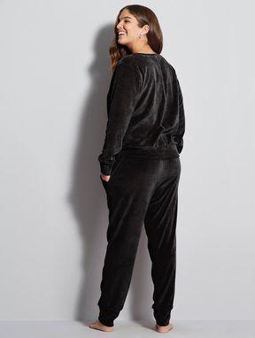 Pijama Longo Marte Preto