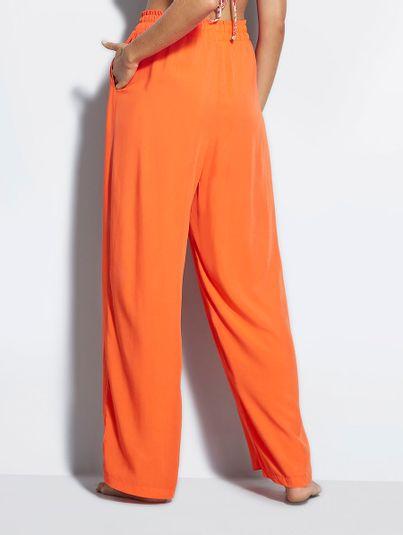 Calça Pantalona Laranja Anzu