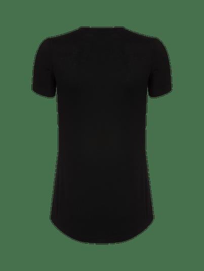 T-shirt Gola V Fraldada Preto