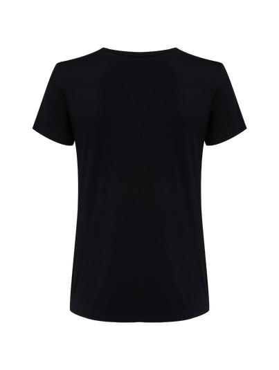 T-shirt Manga Curta Básica Preto