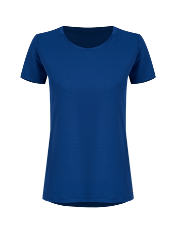 T-shirt Manga Curta Indigo