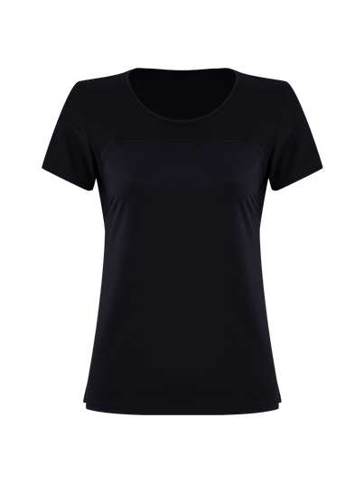 T-shirt Manga Curta Preto