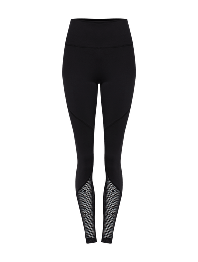 Calça Legging Recortes Preto