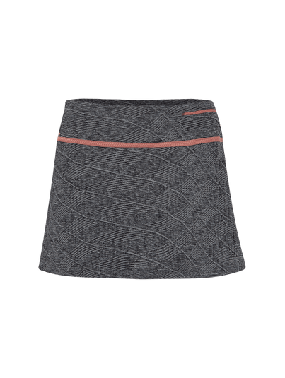Saia Shorts Cinza Mescla