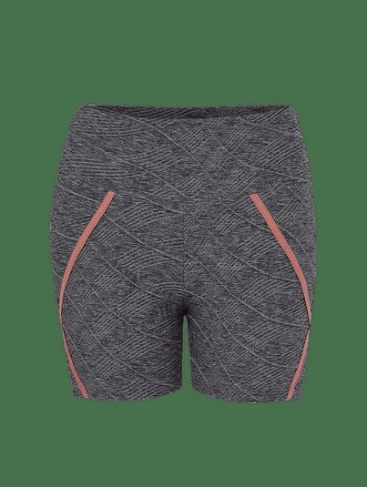 Shorts Fit Mix Match Cinza Mescla