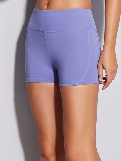 Shorts Fit Lilas Tropical
