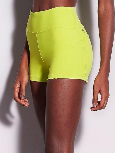 Shorts Fit Verde Pisco