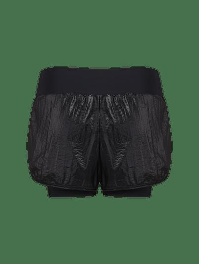 Shorts Runner Cós Alto Black