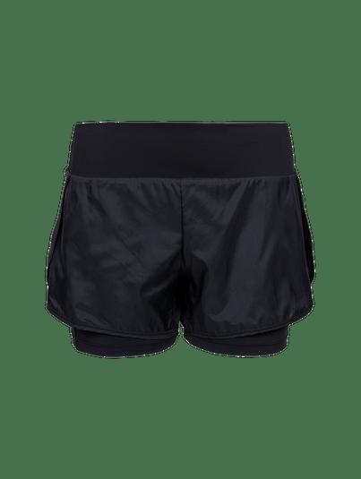 Shorts Runner Cós Alto Preto