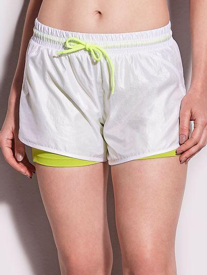 Shorts Runner Com Bermuda Branco