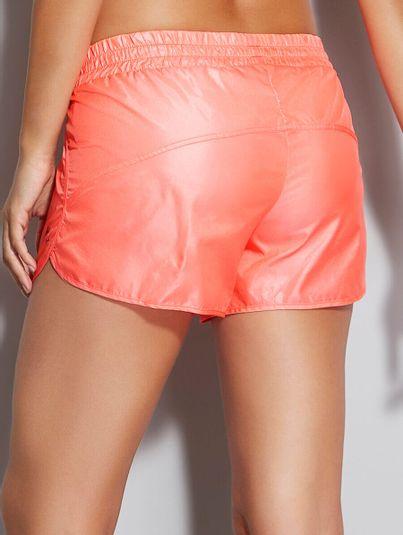 Shorts Runner Laranja Kinkan