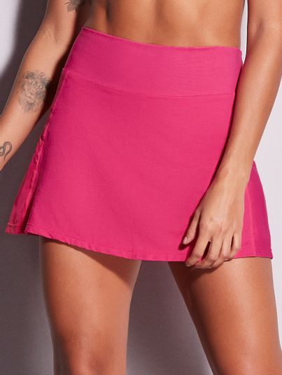 Saia Shorts Básico Rosa Orquidea