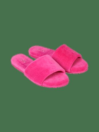 Chinelo Pantufa Soft Pink Hibisco